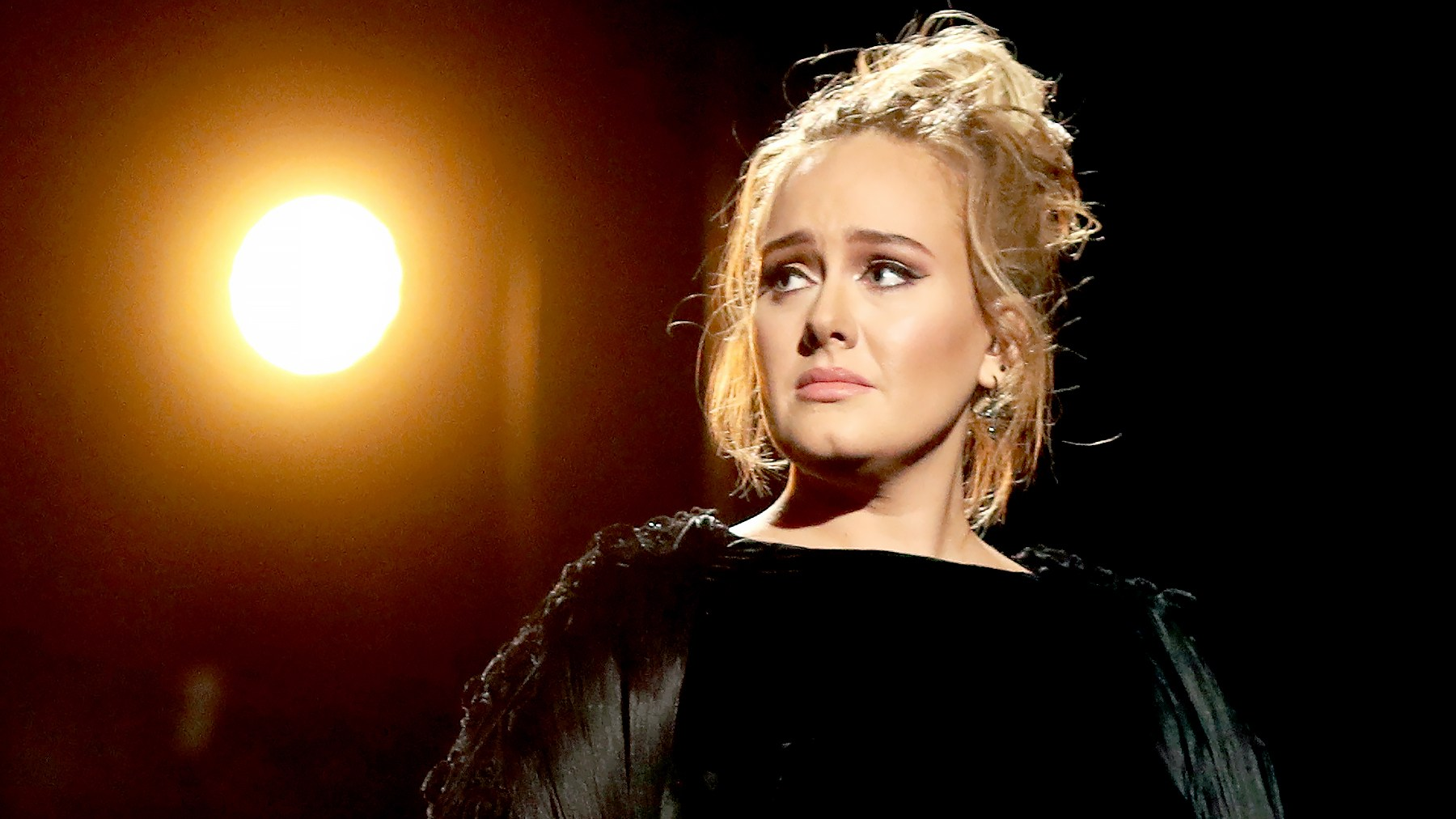 Adele during The 59th GRAMMY Awards at STAPLES Center on February 12, 2017 in Los Angeles, California.