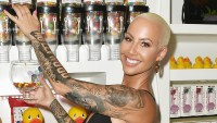 Amber Rose tattoo Wiz Khaifa