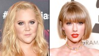 Amy Schumer and Taylor Swift