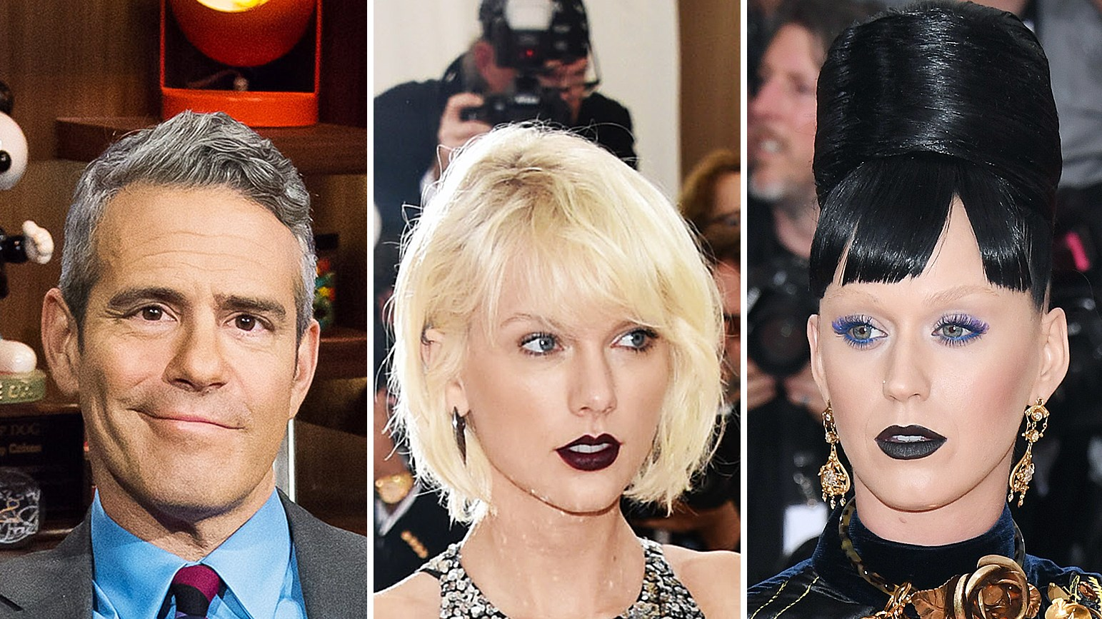 Andy Cohen Taylor Swift Katy Perry