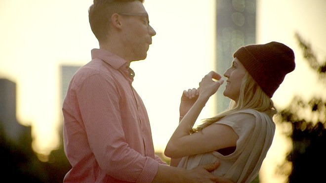 Ted Tremper and AnnaRose King in Good Enough