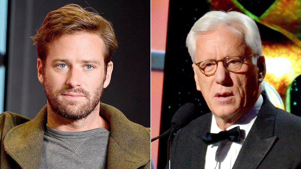 Armie Hammer and James Woods