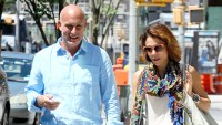 Bethenny Frankel and Dennis Shields seen holding hands in NYC.