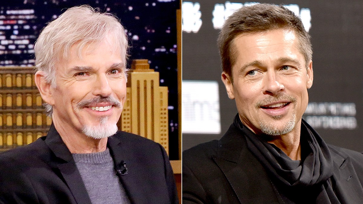 Billy Bob Thornton and Brad Pitt