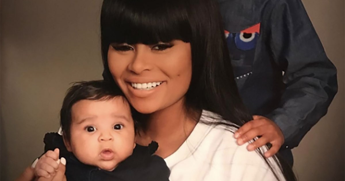 Blac Chyna Shares Adorable Family Photo With Kids King and Dream