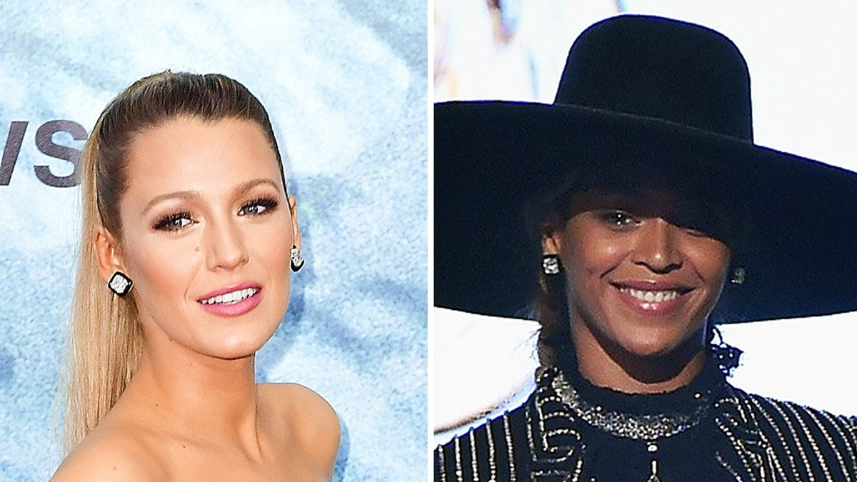 a72277bff Blake Lively and Beyonce Wore the Same Diamond Stud Earrings
