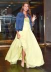 Blake Lively Yellow Dress Pregnant