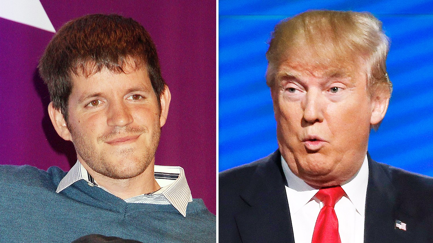 Brandon Stanton and Donald Trump