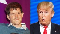 Brandon Stanton and Donald Trump