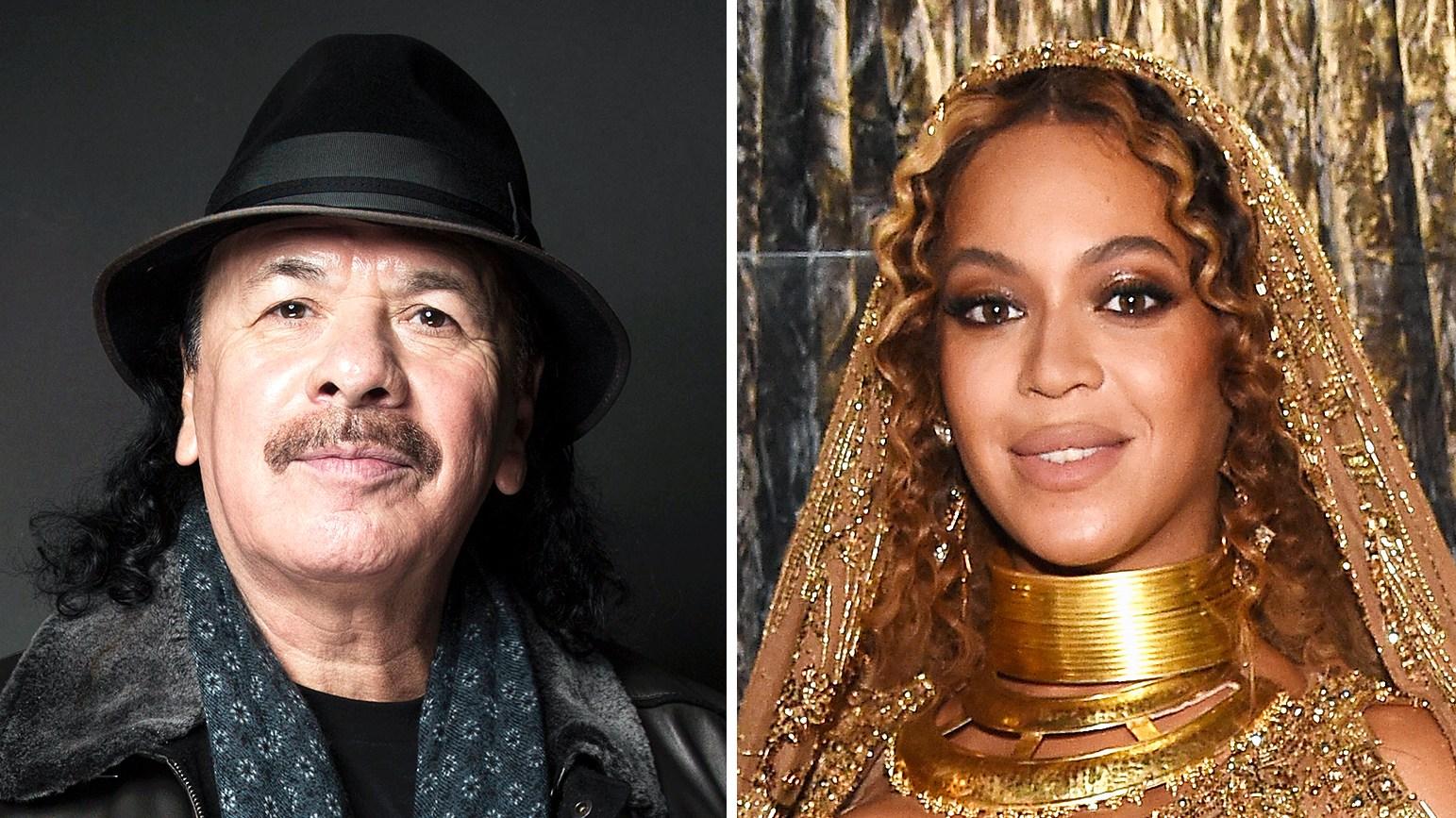 Carlos Santana Beyonce