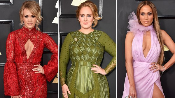 Carrie Underwood, Adele and Jennifer Lopez