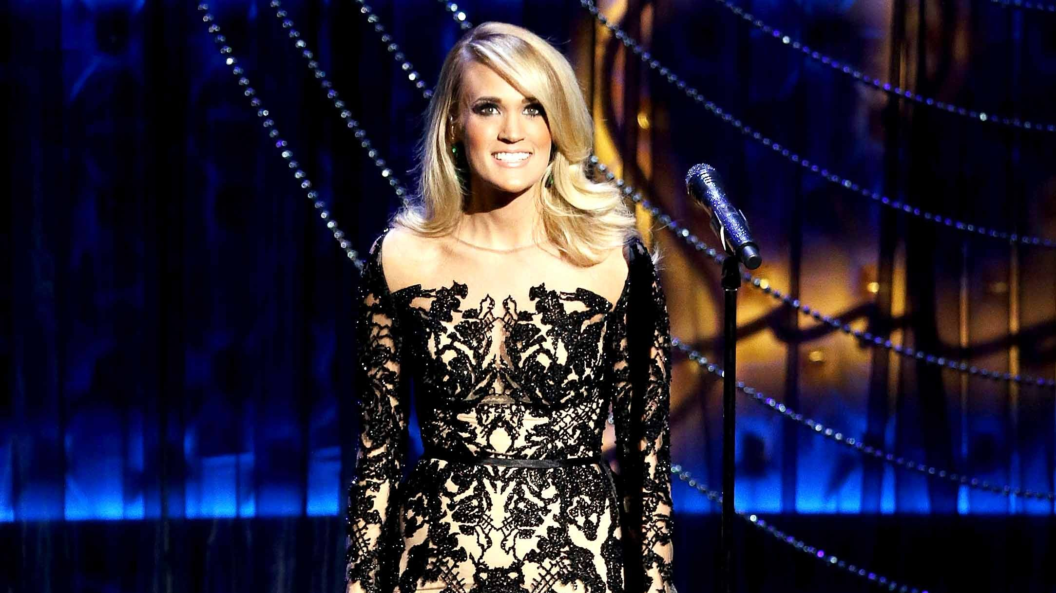 Carrie Underwood performs onstage during