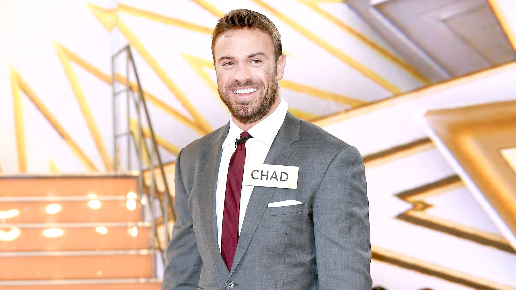 Chad Johnson enters the 'Big Brother' house for the 'Celebrity Big Brother' launch at Elstree Studios in Borehamwood, England on August 1, 2017.