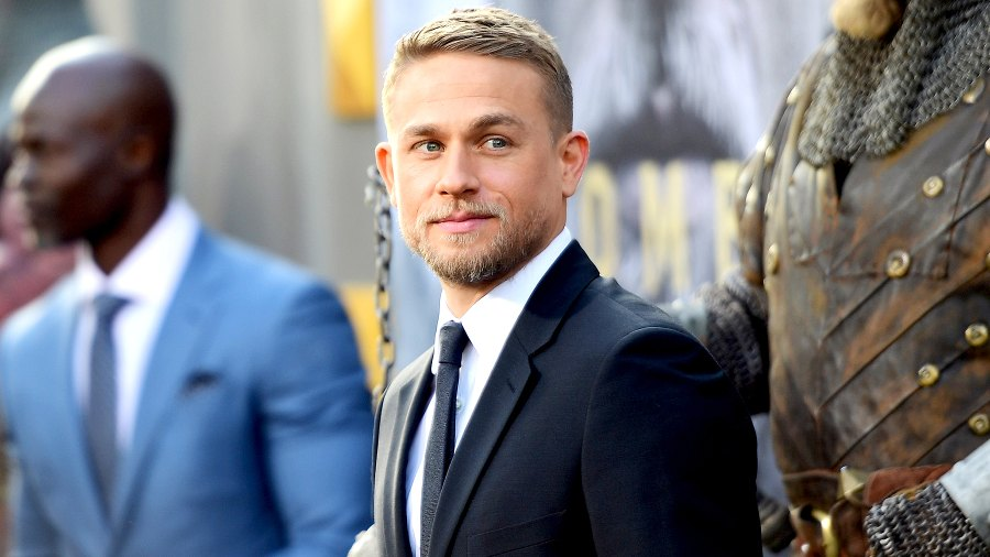 """Charlie Hunnam attends the premiere of Warner Bros. Pictures' """"King Arthur: Legend Of The Sword"""" at TCL Chinese Theatre on May 8, 2017 in Hollywood, California."""