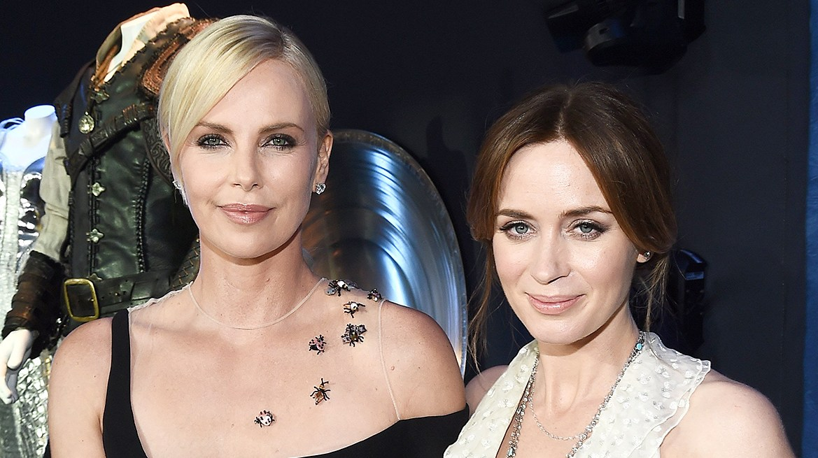 Charlize Theron and Emily Blunt