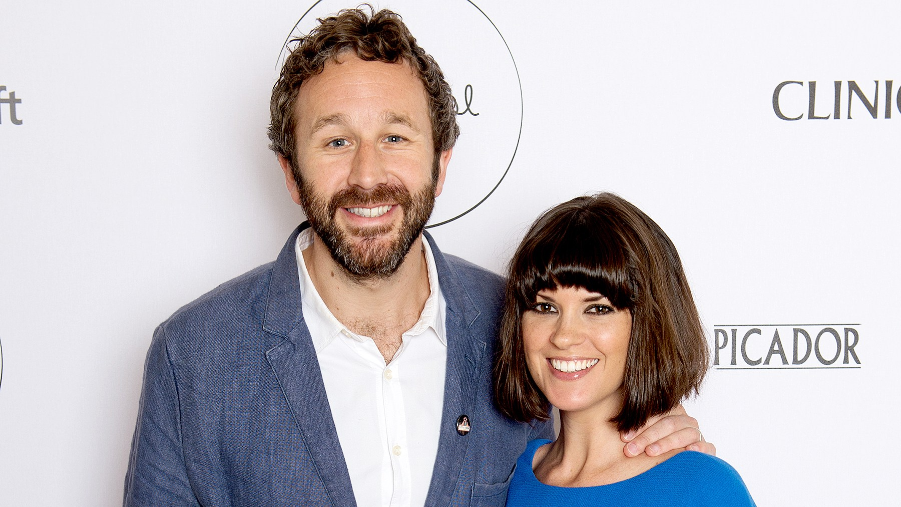 Chris O'Dowd and Dawn O'Porter attend the launch party for The Pool, a unique multi-media platform for busy women co-founded by renowned editor and journalist Sam Baker and broadcaster Lauren Laverne, on April 23, 2015 in London, England.