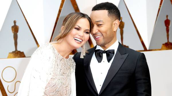 Chrissy Teigen and John Legend arrive at the 89th Annual Academy Awards at Hollywood & Highland Center on February 26, 2017 in Hollywood, California.