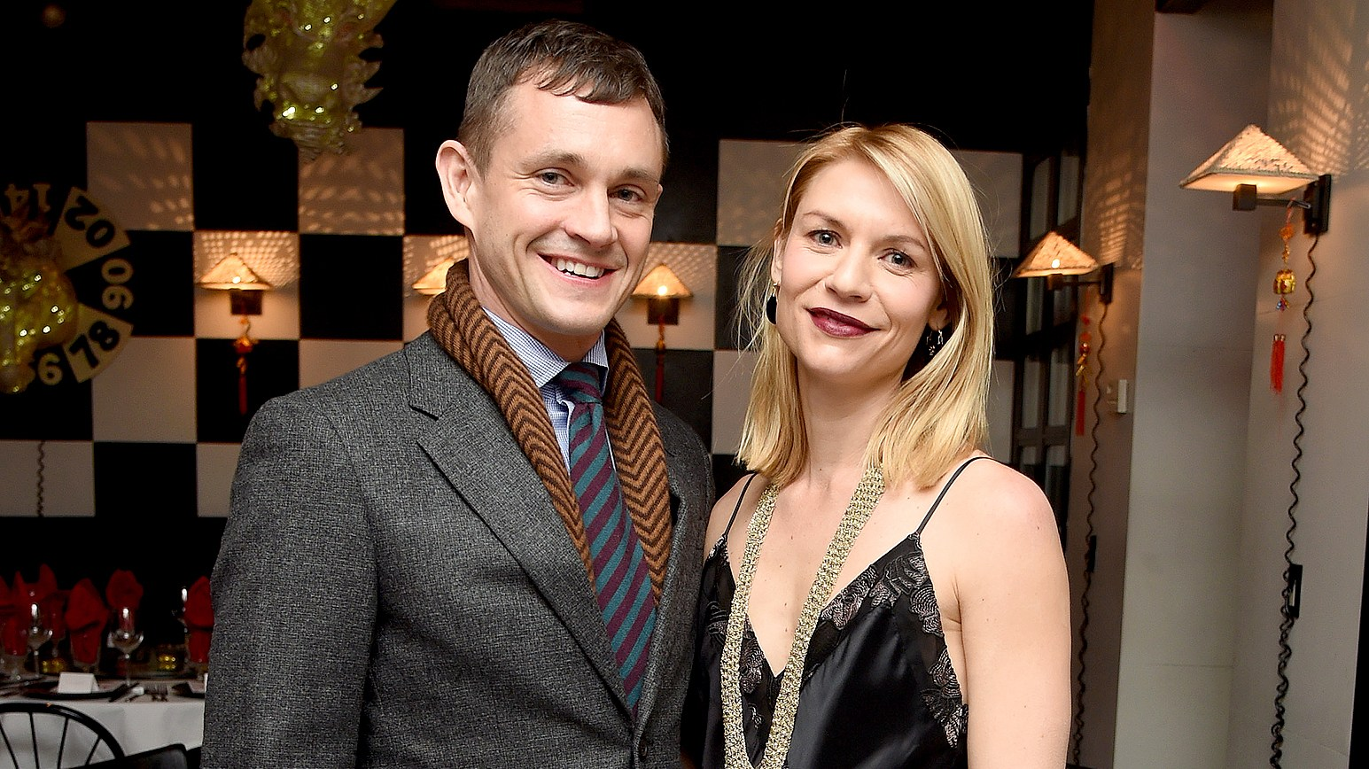 Hugh Dancy and Claire Danes at the Opening Ceremony celebrating the Lunar New Year at Shun Lee Cafe, New York, NY, on January 28, 2017.