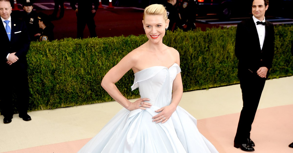 Met Gala 2016 Red Carpet: Claire Danes Wears Light-Up Cinderella Gown