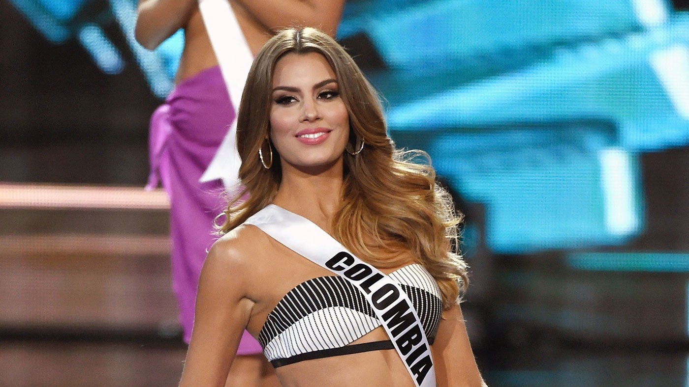 Miss Colombia has spoken out about the Miss Universe gaffe