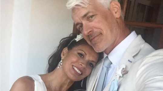 Dina Eastwood marries husband Scott Fisher