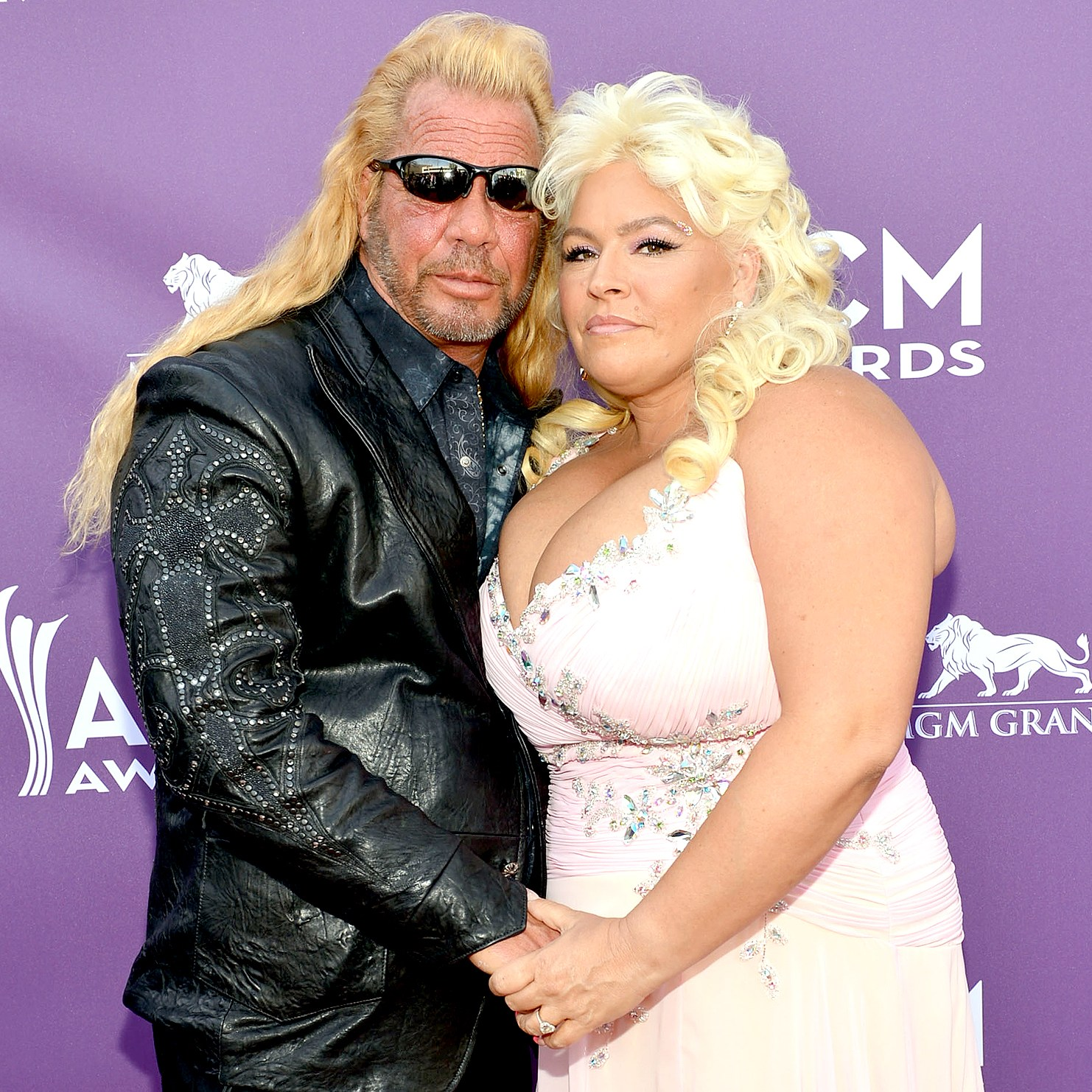 "Duane ""Dog"" Chapman and Beth Smith attend the 48th Annual Academy of Country Music Awards at the MGM Grand Garden Arena on April 7, 2013 in Las Vegas, Nevada."