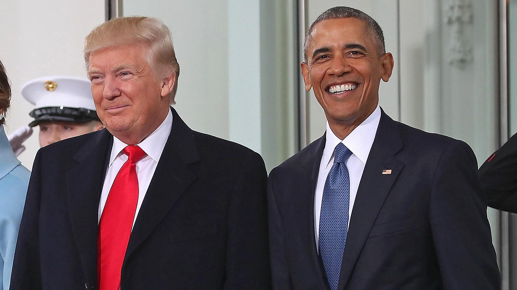 Donald Trump, Barack Obama, Letter