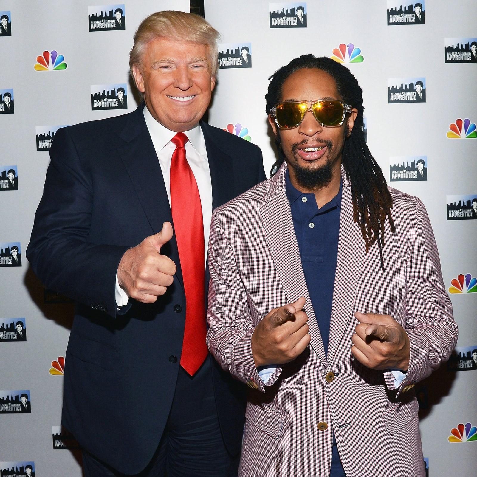 Donald Trump and Lil Jon