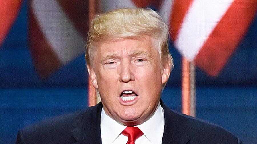 Donald Trump Mary Trump hair