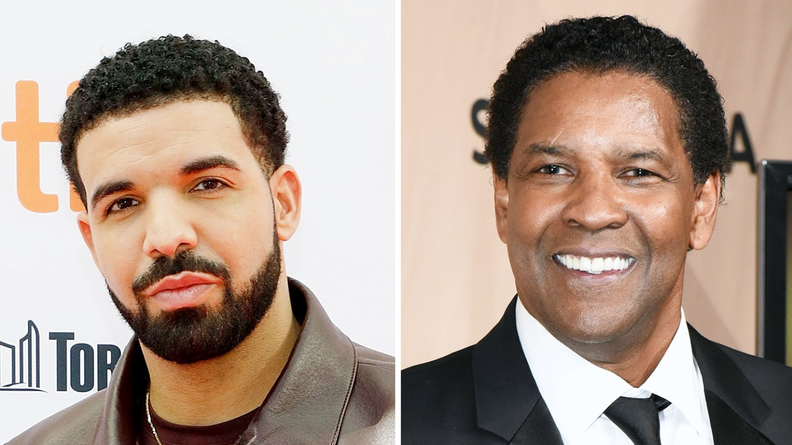Drake Gets A Tattoo Of Denzel Washingtons Face