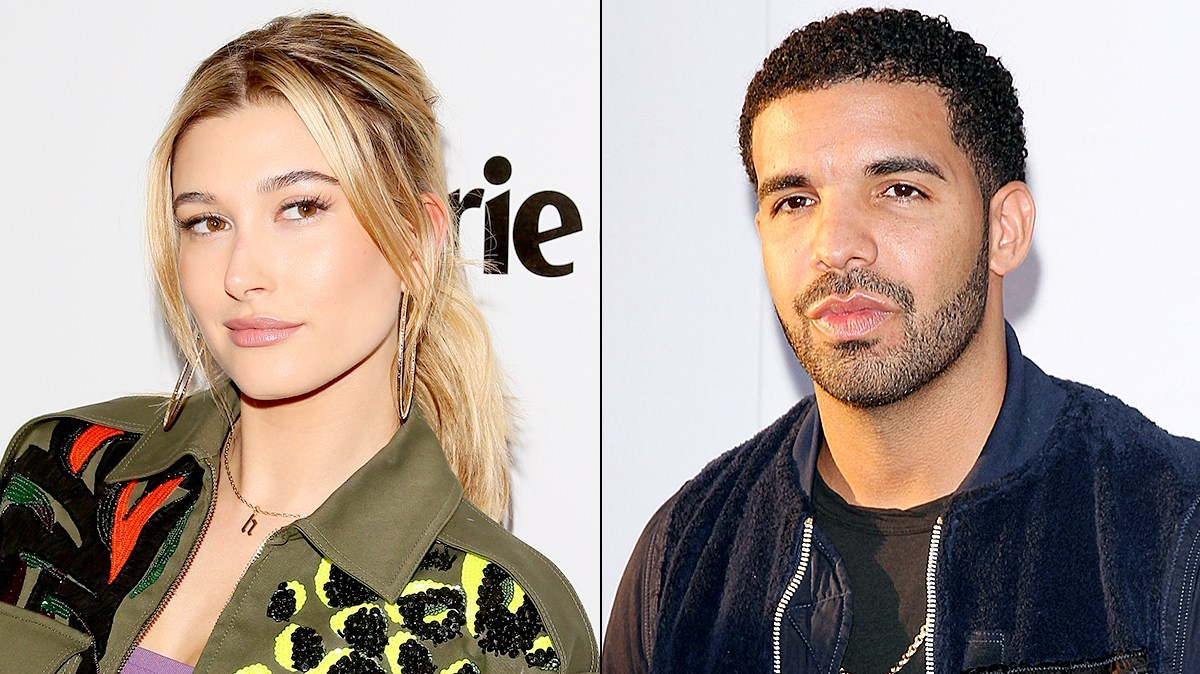 Hailey Baldwin and Drake
