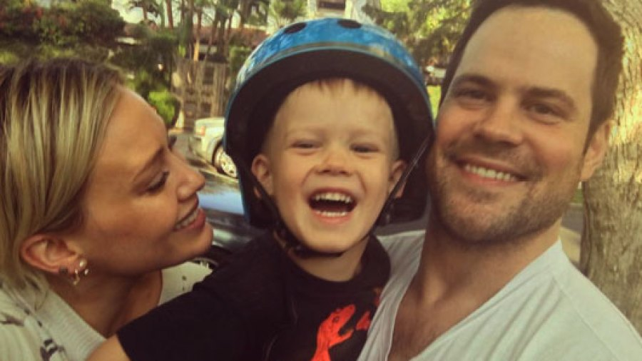 Hilary Duff and Mike Comrie united to celebrate Luca's birthday