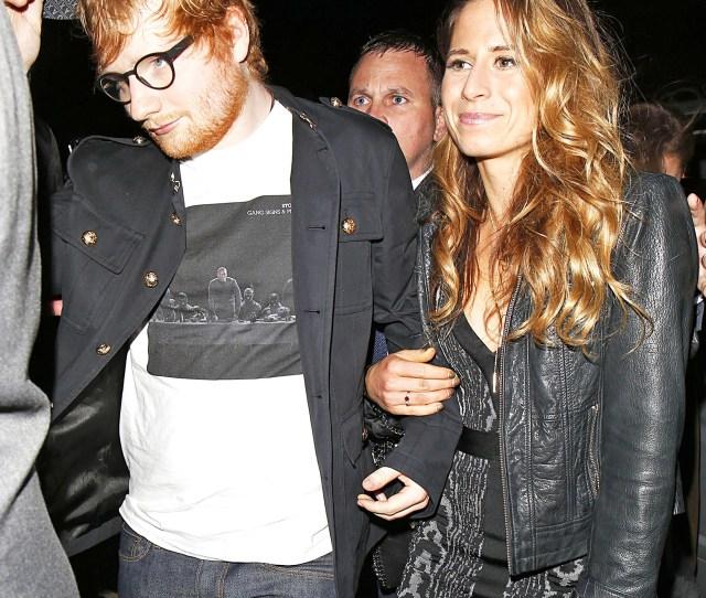 Ed Sheeran Cherry Seaborn Girlfriend Love