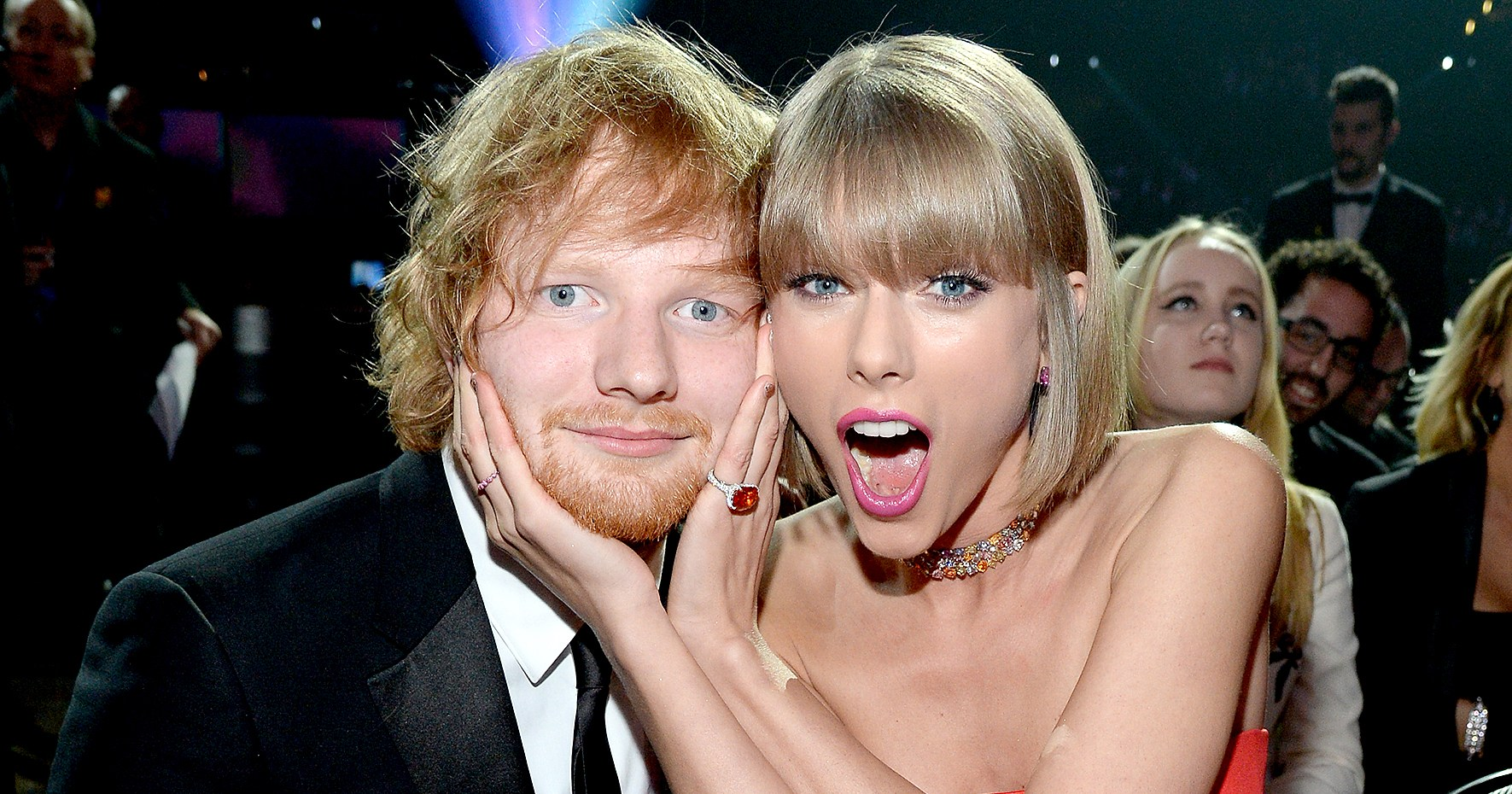 ed sheeran confirms he�s hooked up with taylor swift�s friends