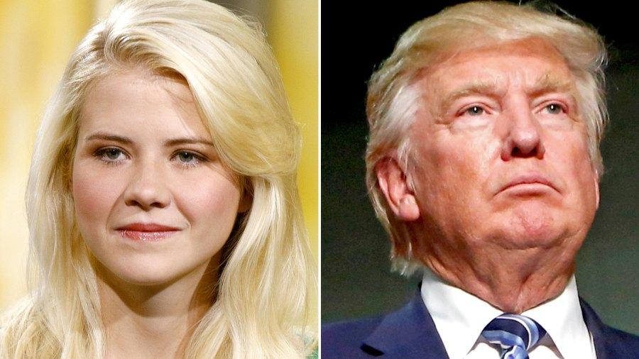 Elizabeth Smart and Donald Trump