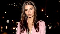 Emily Ratajkowski is seen arriving to the Altuzarra fashion show during New York Fashion Week on February 12, 2017 in New York City.