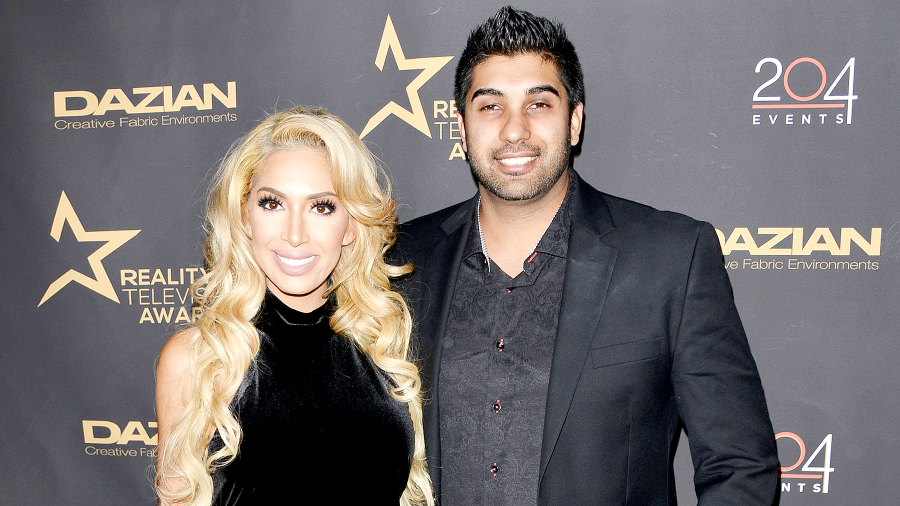 Farrah Abraham and Simon Saran attend the 4th Annual Reality TV Awards in Los Angeles, CA on November 2, 2016.