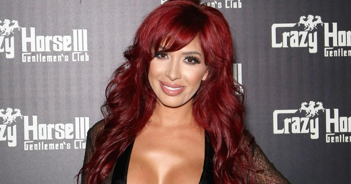 Farrah Abraham Shows Off Bare Booty In Sheer Jumpsuit In