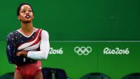 Gabby Douglas at the Rio Olympic Games
