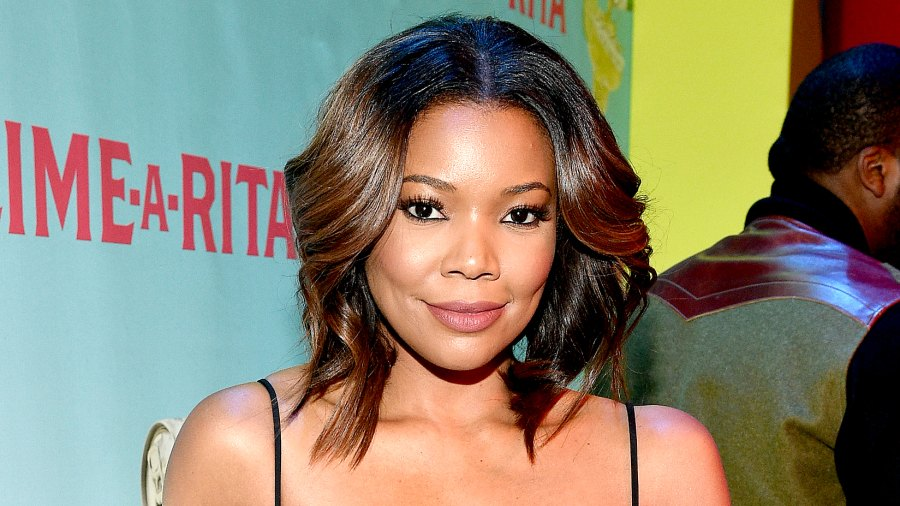 Gabrielle Union celebrates Lime-A-Rita National Margarita Day event at Grand Central Terminal on February 22, 2016.