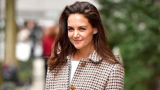 Katie Holmes Kisses Daughter Suri in Sweet Mother's Day Pics