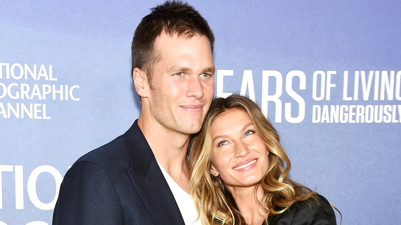 "Tom Brady and Gisele Bundchen attend National Geographic's ""Years Of Living Dangerously"" new season world premiere at the American Museum of Natural History on September 21, 2016 in New York City."