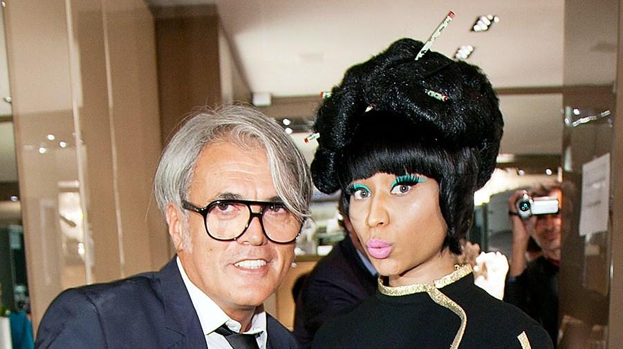 Designer Giuseppe Zanotti Nikki Minaj