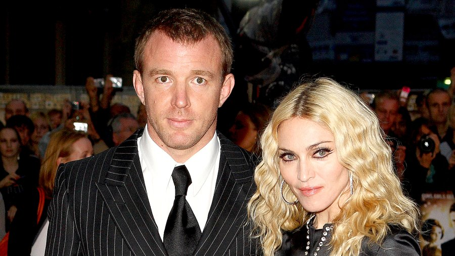 Guy Ritchie and Madonna attend the world premiere of RocknRolla at Odeon West End on September 1, 2008 in London, England.