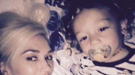 Gwen Stefani and son Apollo