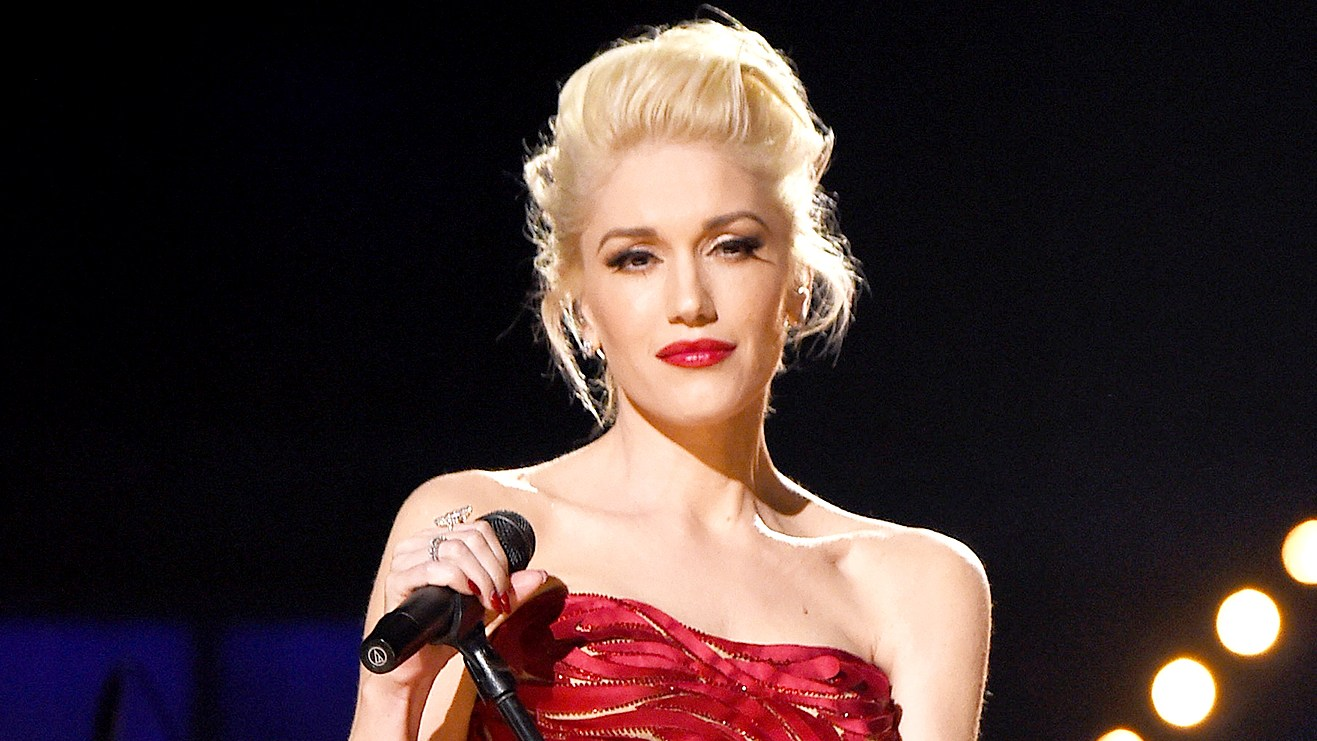 Gwen Stefani performs at The 57th Annual GRAMMY Awards.