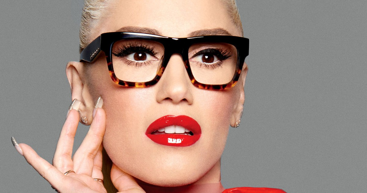 34eb5b3a4e Gwen Stefani s Says Her Eyeglasses Will Make You Look