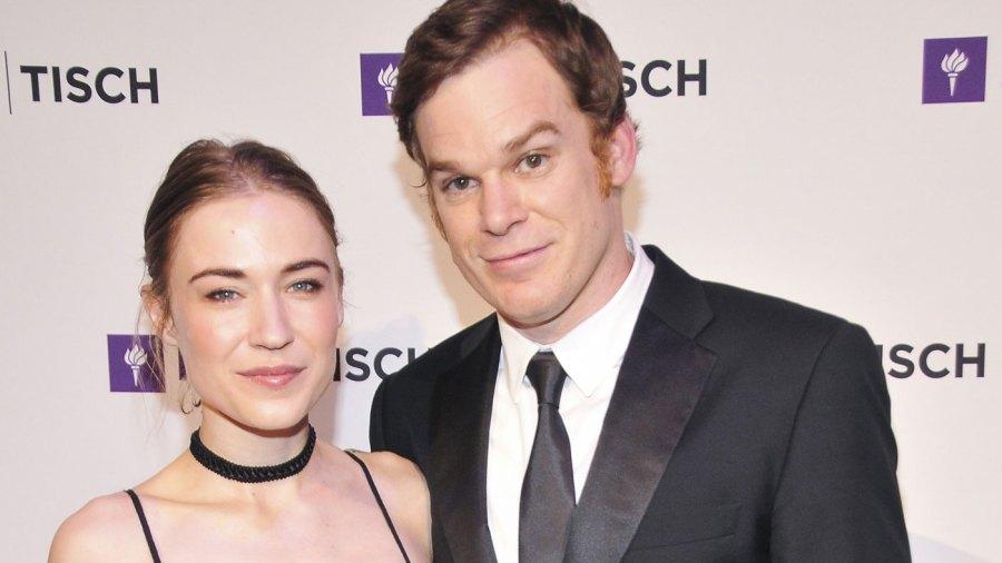 Morgan MacGregor and Michael C. Hall attend NYU Tisch School of The Arts 2015 Gala