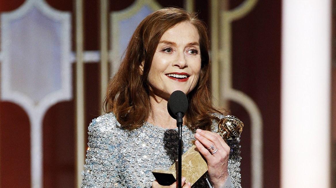 Isabelle Huppert Golden Globes