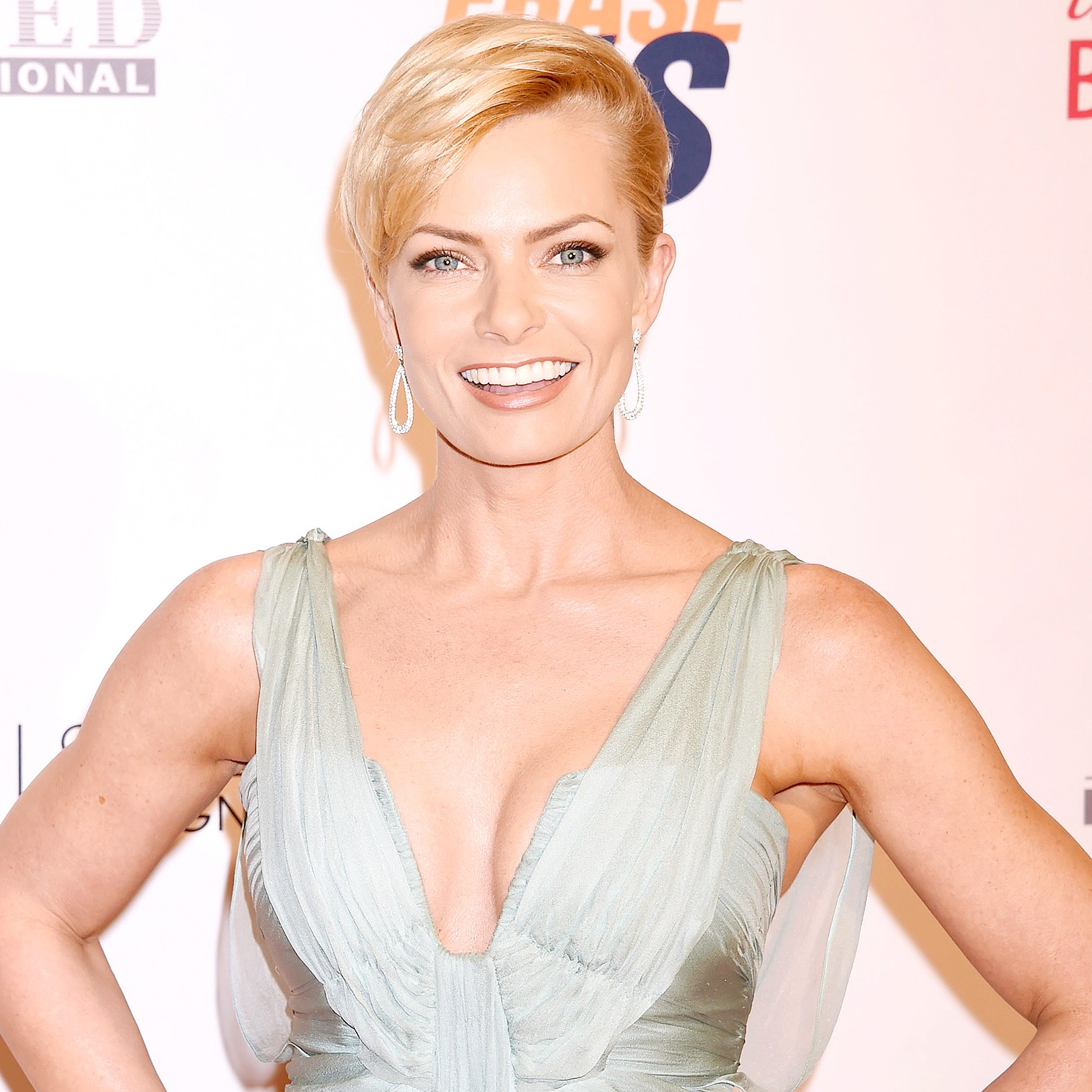 Jaime Pressly attends the 23rd Annual Race To Erase MS Gala at The Beverly Hilton Hotel on April 15, 2016 in Beverly Hills, California.